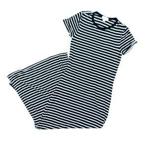🌵 MICHAEL KORS Striped Maxi Dress Short Sleeve